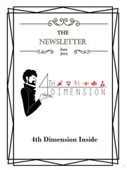 4th dimension newsletter 2