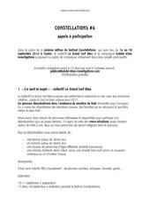 constellations 2016 appel a participation