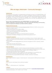 Fichier PDF offre de stage webmaster community manager