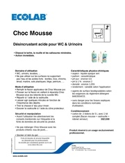 ecolab choc mousse ft