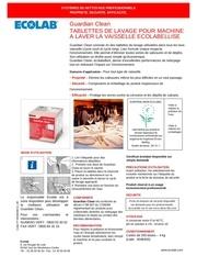 Fichier PDF ecolab guardian clean ft