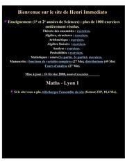Fichier PDF maths monde site immediato