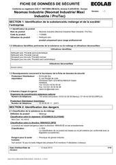 Fichier PDF neomat industrie fds