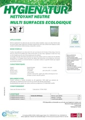nettoyant multi surfaces ecolabel ft