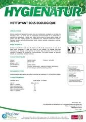 nettoyant sols ecologique ft