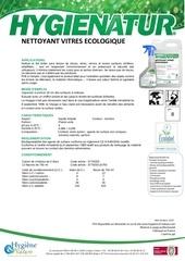 nettoyant vitres ecologique ft