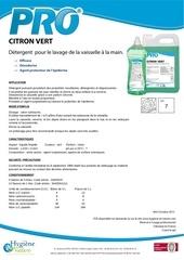 Fichier PDF pro citron vert ft