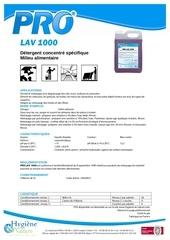 Fichier PDF pro lav 1000 fds