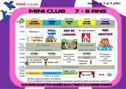 programme mini 7 8ans 11111