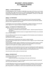 reglement jeu concours bospop weert2