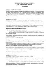 reglement jeu concours musilac2