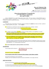 charte 17eme prix gromaire pour fb