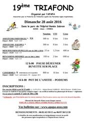 triafond 2016 affiche et bulletin ok