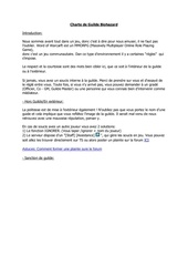 charte de guilde biohazard