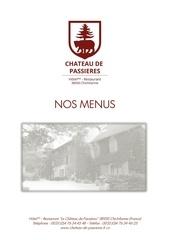 menus 2016