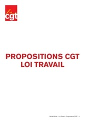 propositions cgt loi travail 29 06