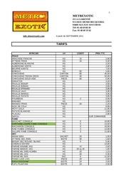 Fichier PDF tarifs septembre 2011