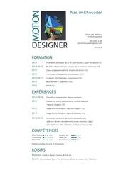 Fichier PDF cv nassim 2016