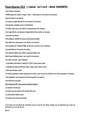 fournitures pdf ce2 2
