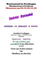 karaoke moule frites 2016