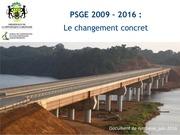 psge 2009 2016 les realisations concretes synthese juin