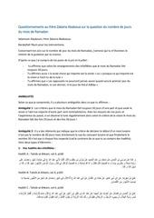 Fichier PDF questions jours ramadan