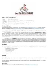 stage biere artisanale la parisienne brasseur production