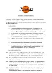 reglement interieur adherents