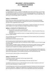 reglement jeu concours bospop weert4