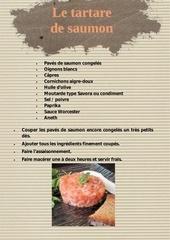 11 le tartare de saumon
