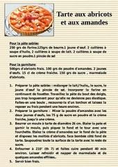 22 tarte aux abricots et aux amandes