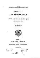bulletin archeologique annee 1917