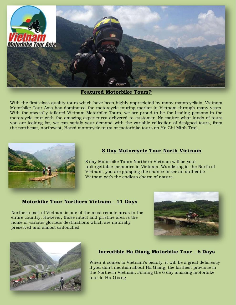 Northern Vietnam Motorcycle Tours.pdf - page 1/3