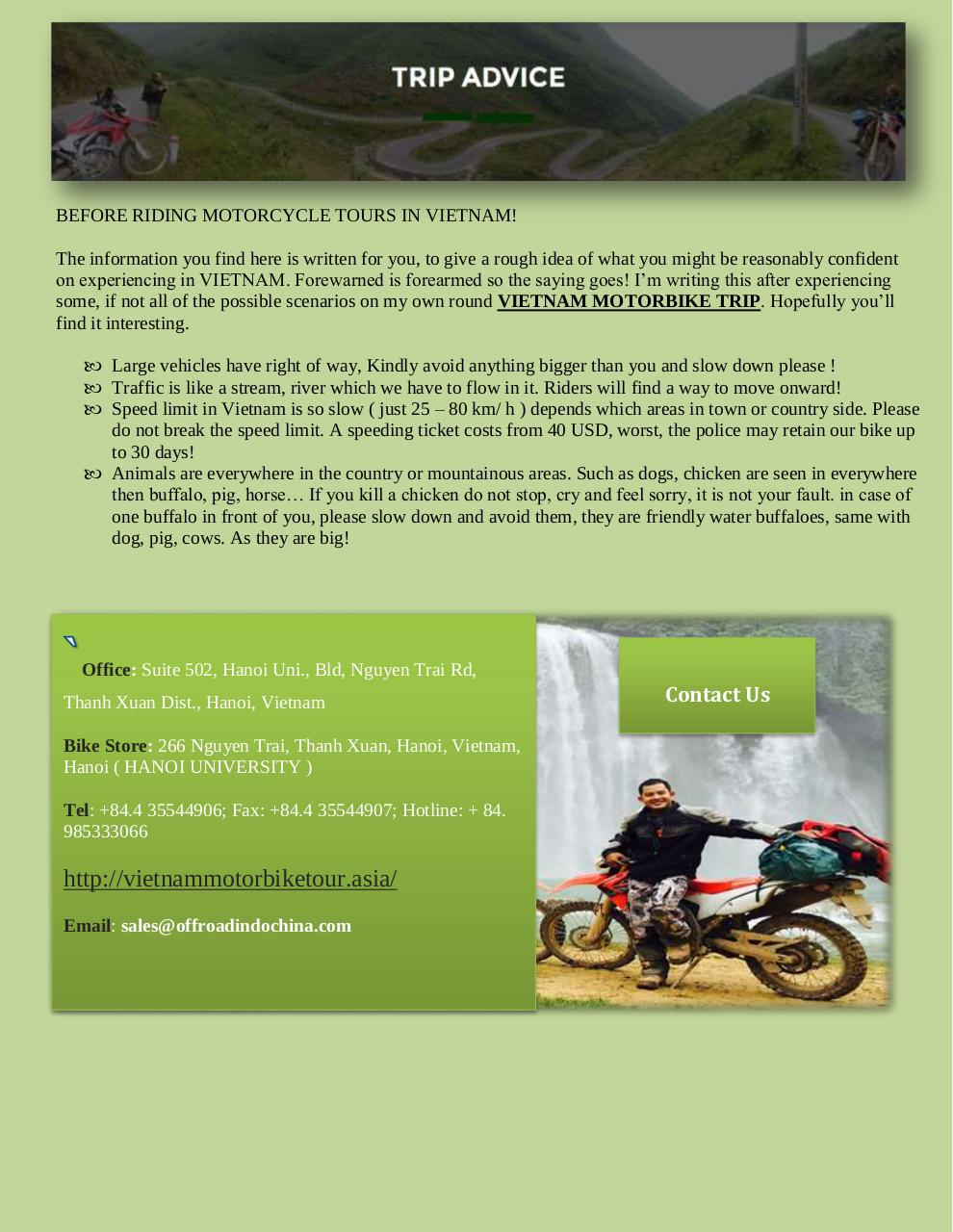 Northern Vietnam Motorcycle Tours.pdf - page 3/3