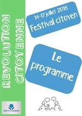 programme festival citoyen
