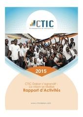 ctic dakar rapport d activites 2015