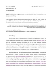 lettre de motivation madmoizelle alexandre antolin