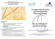 pre programme seminaire clinique 2016