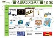 semaine 2 junior club fram nature amaury