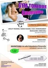 affiche gym tonique document pdf corrige