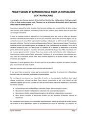 Fichier PDF projet social et democratique pour la rca