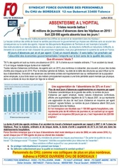16 07 04 tract sur l absenteesme dans la fph en 2016