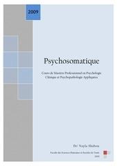 cours de psychosomatique