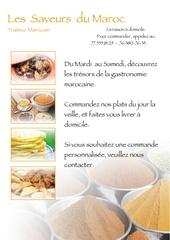 saveurs maroc