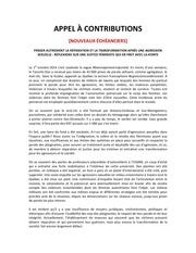 Fichier PDF appel a contributions