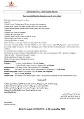 Fichier PDF fourniture