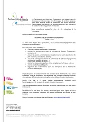 offre responsable accompagnement hf