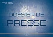 dossier de presse mhsc 2015 2016