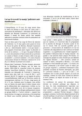 2016 06 08 loi travail la manip judiciaire antimanifestants