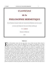 Fichier PDF claviculehermetique
